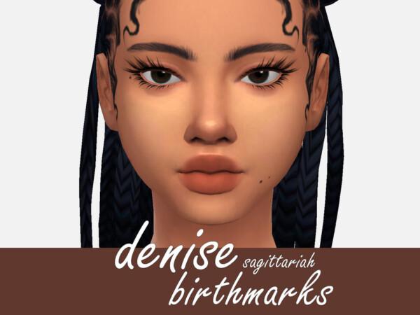 Denise Birthmarks by Sagittariah from TSR