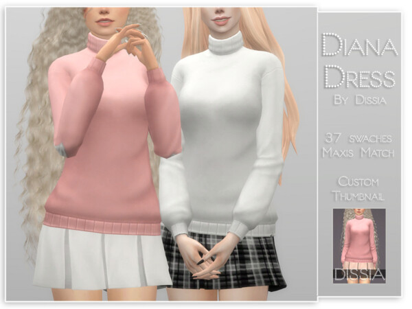 Diana Dress by Dissia from TSR