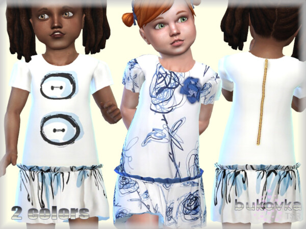 Dress Frill and Wings by bukovka from TSR