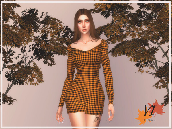 Dress I Autumn VI by Viy Sims from TSR