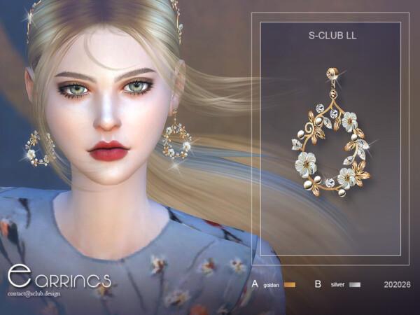 Earrings 20226 by S Club from TSR