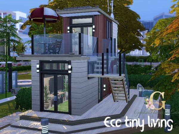 Eco Tiny Living Home by GenkaiHaretsu from TSR
