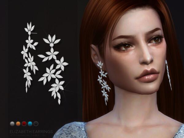 Elizabeth earrings by sugar owl from TSR