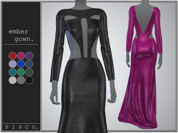 Ember gown by Pipco from TSR
