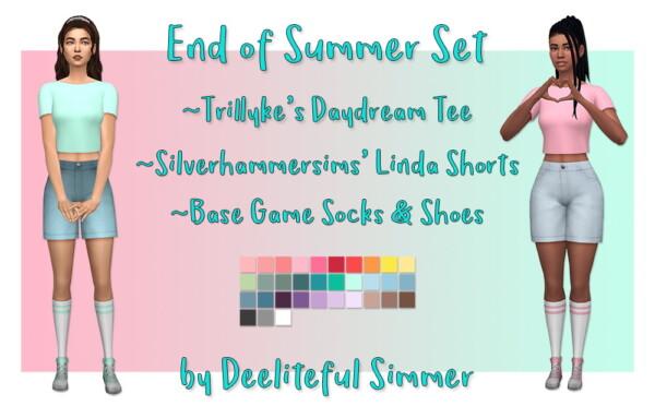 End Of Summer Set from Deelitefulsimmer