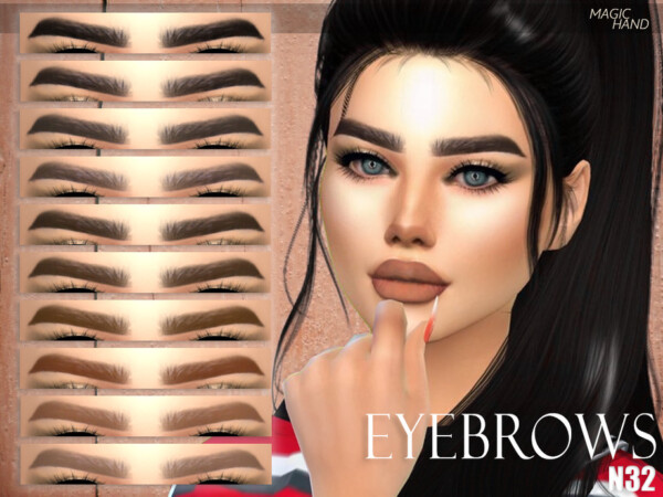 Eyebrows N32 by MagicHand from TSR