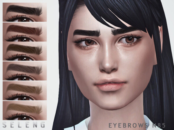 Eyebrows N85 by Seleng from TSR