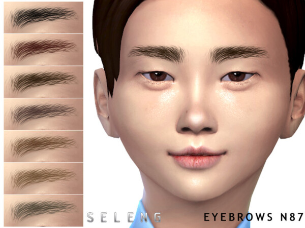 Eyebrows N87 by Seleng from TSR
