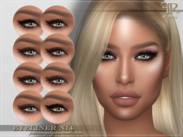 Eyeliner N14 by FashionRoyaltySims from TSR