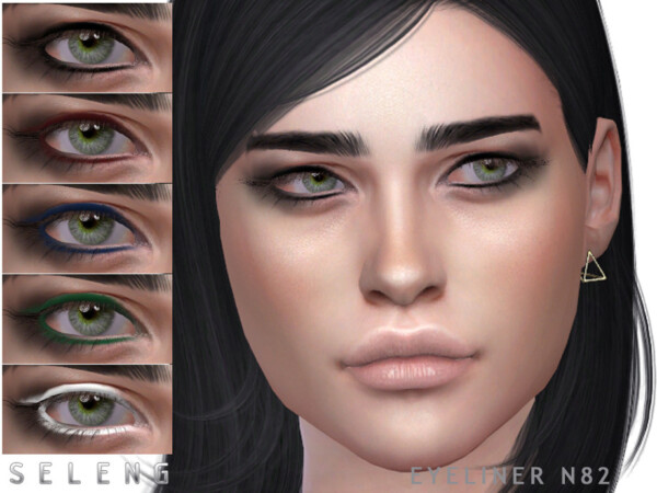 Eyeliner N82 by Seleng from TSR