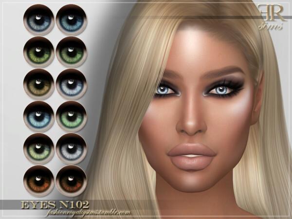 Eyes N102 by FashionRoyaltySims from TSR