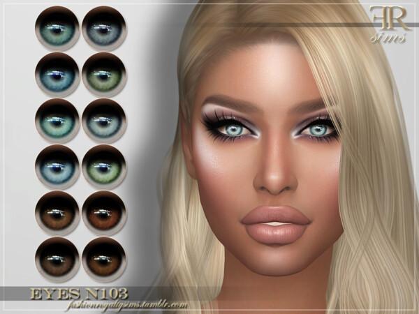 Eyes N103 by FashionRoyaltySims from TSR