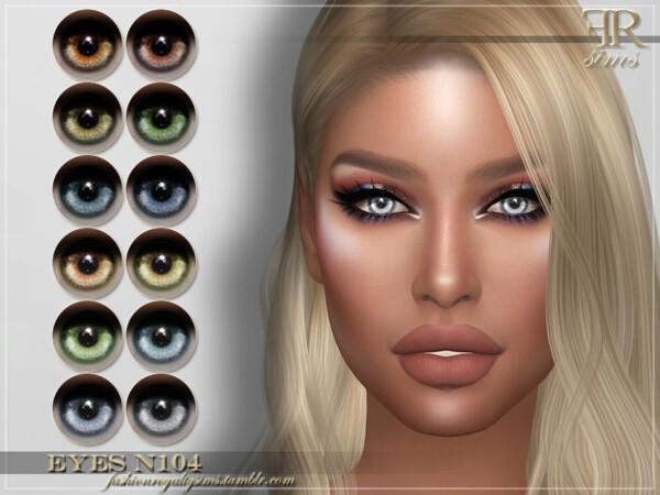 Eyes N104 by FashionRoyaltySims from TSR