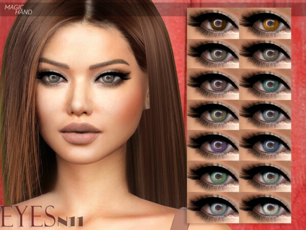 Eyes N11 by MagicHand from TSR
