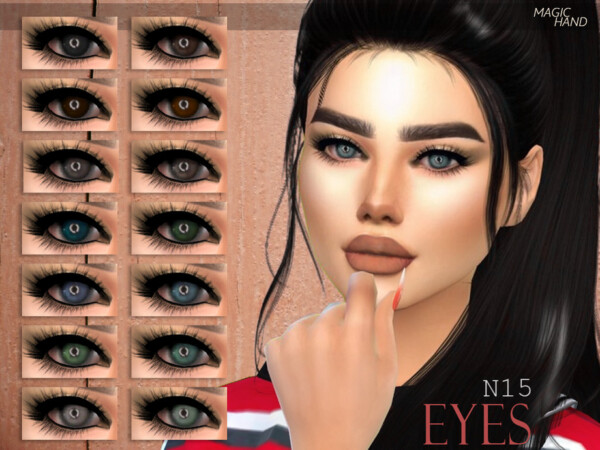 Eyes N15 by MagicHand from TSR