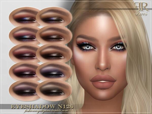 Eyeshadow N126  by FashionRoyaltySims from TSR