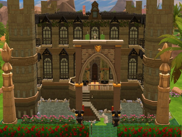 Famous Castle by alexandraytony from Luniversims