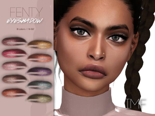 Fenty Eyeshadow N.162 by IzzieMcFire from TSR