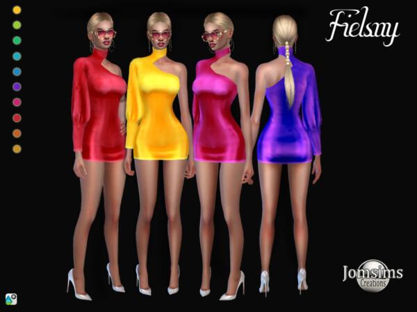 Fielsny dress by jomsims from TSR