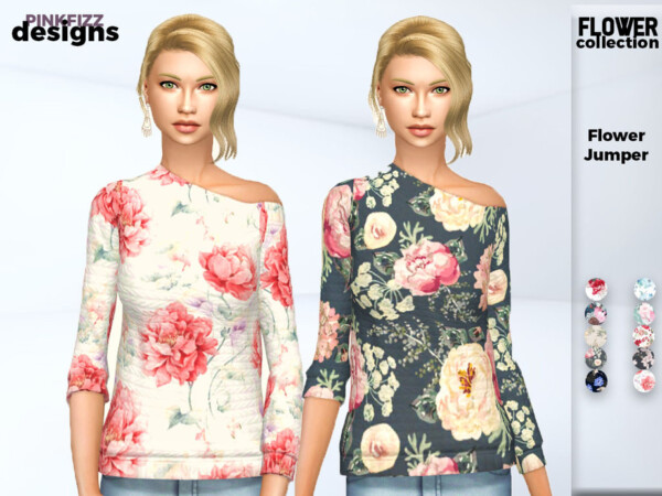 Flower Jumper by Pinkfizzzzz from TSR