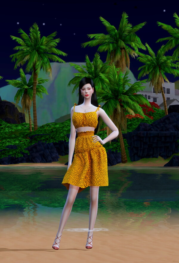 Frill Dress from Chaessi