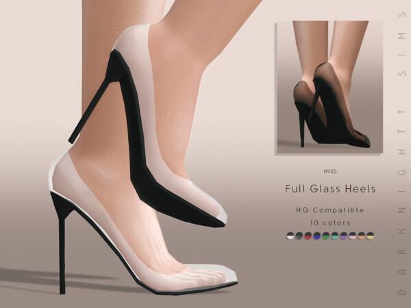 Full Glass Heels by DarkNighTt from TSR