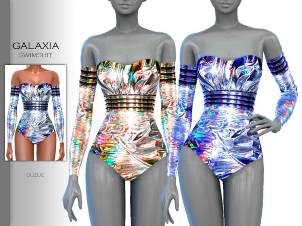 Galaxia Swimsuit by Suzue from TSR