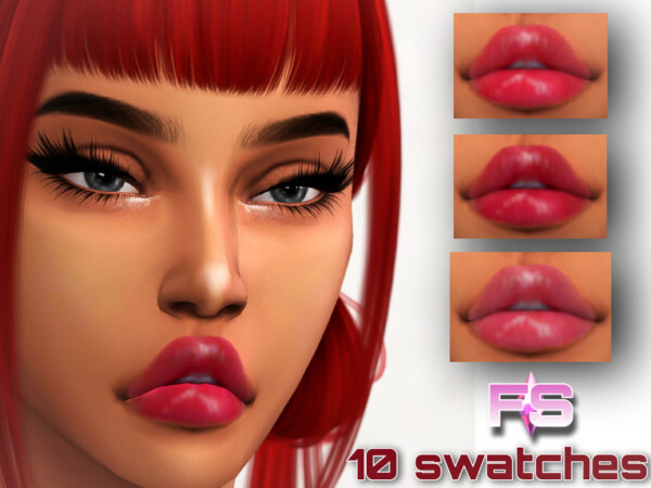 Giddy Lipgloss by FamSimsss from TSR