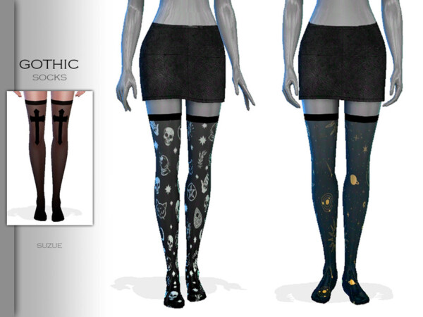 Gothic Socks by Suzue from TSR
