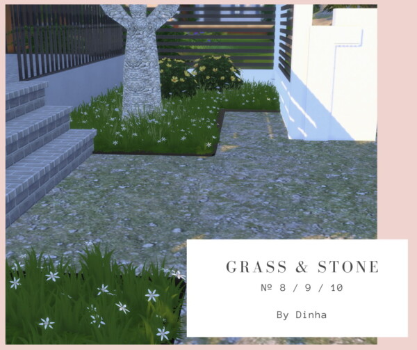 Grass and Stone 8/9/10 from Dinha Gamer