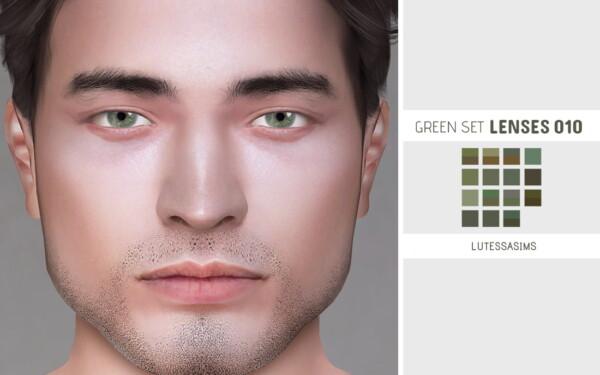 Green Set Lenses 010 from Lutessa