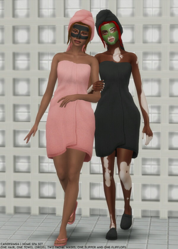 Home Spa Set from Candy Sims 4