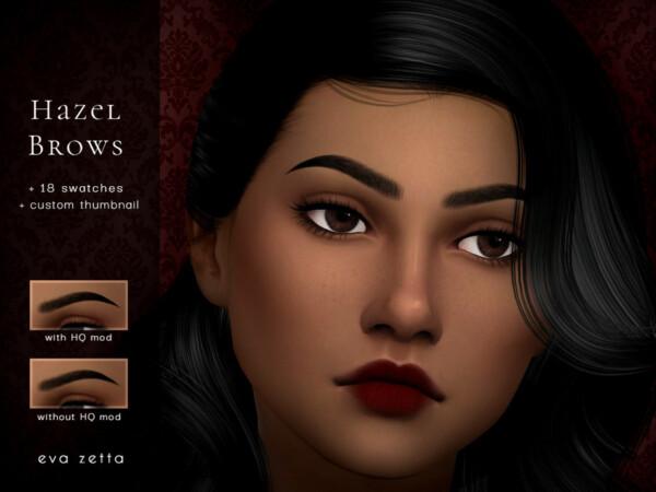 Hazel Eyebrows by Eva Zetta from TSR