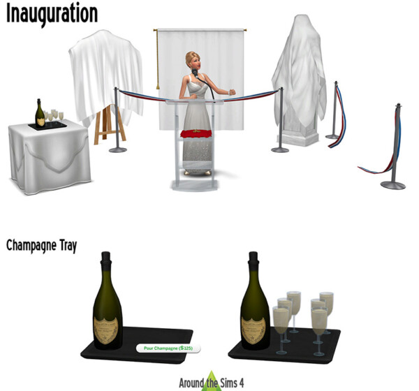 Inauguration from Around The Sims 4