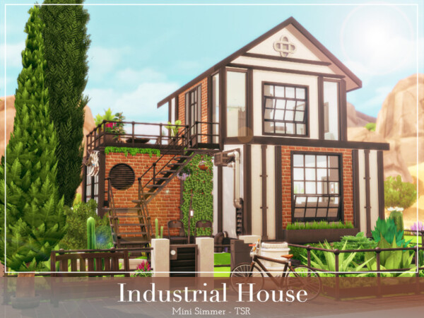 Industrial House by Mini Simmer from TSR