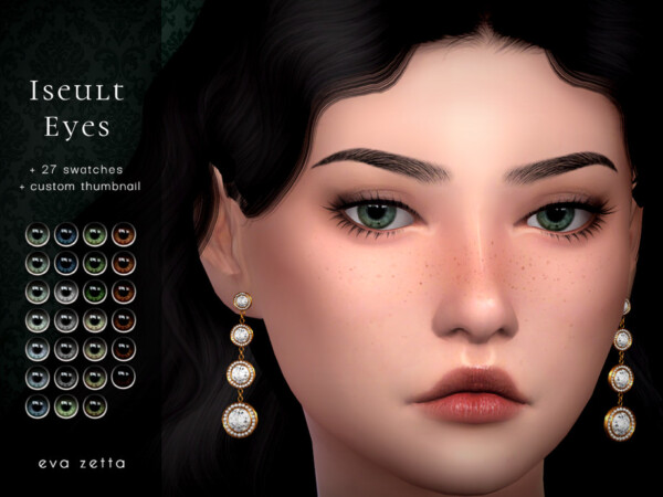 Iseult Eyes by Eva Zetta from TSR