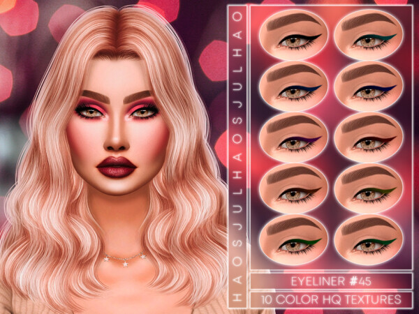 Eyeliner 45 by Jul Haos from TSR