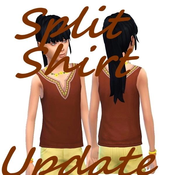 Kids SplitShirt from Birkschessimsblog