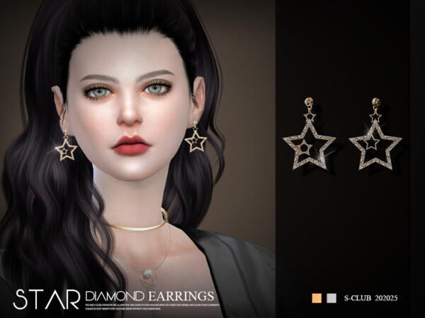 LL Earrings 20225 by S Club from TSR