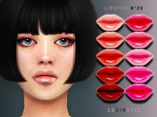 Lipstick N20 by cosimetic from TSR