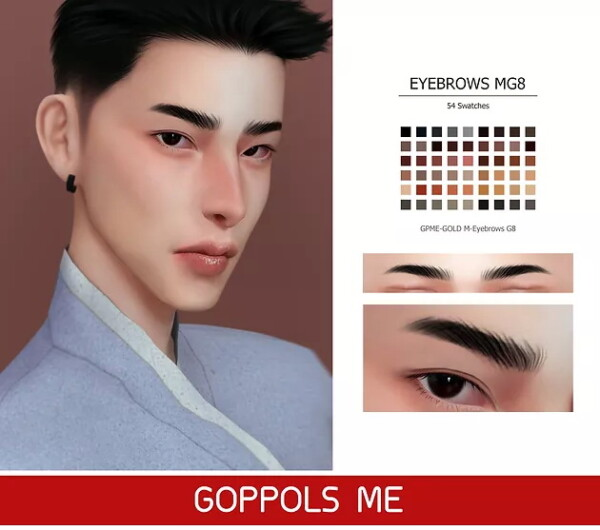 M Eyebrows G8 from GOPPOLS Me