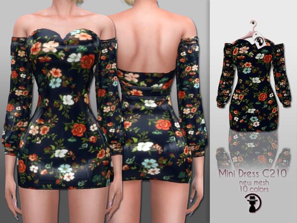 Mini Dress C210 by turksimmer from TSR