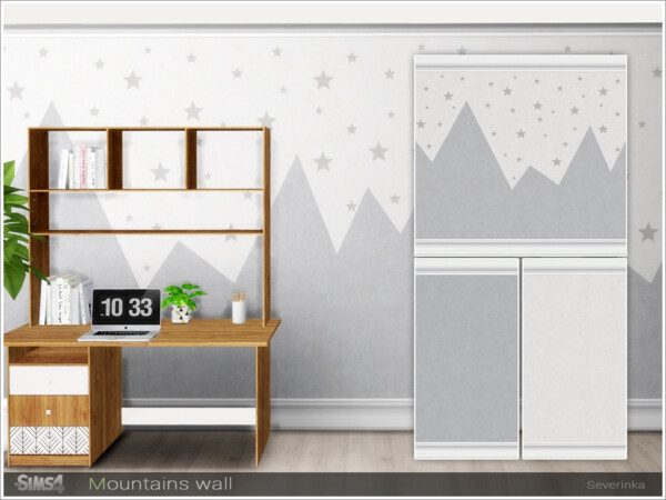 Mountains wall by Severinka from TSR