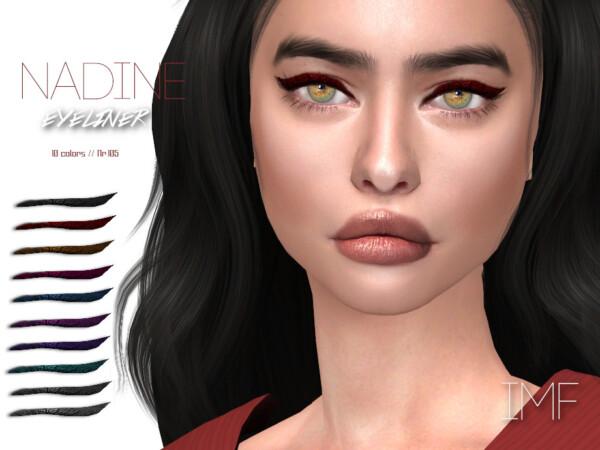 Nadine Eyeliner N.105 by IzzieMcFire from TSR