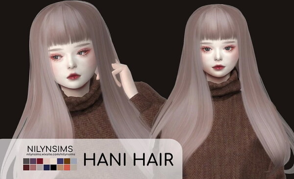 Nani Hairstyle from Nilyn Sims 4