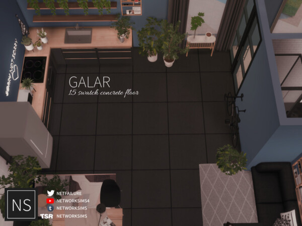 Galar Concrete Floor by Networksims from TSR