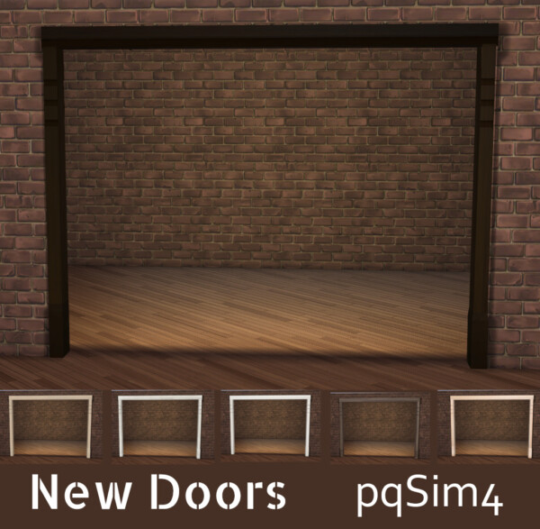 New Doors from PQSims4