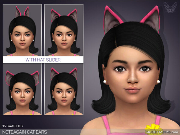 NotEgains Cat Ears For Kids from Giulietta Sims