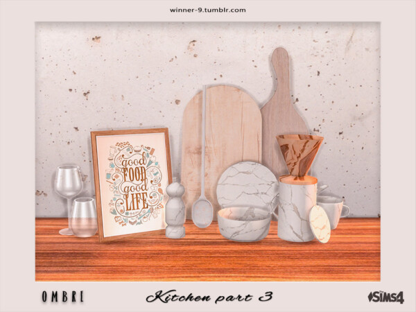 Ombre Kitchen part 3 by Winner9 from TSR