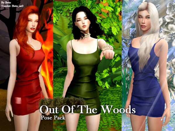Out Of The WoodsPose Pack by Beto ae0 from TSR